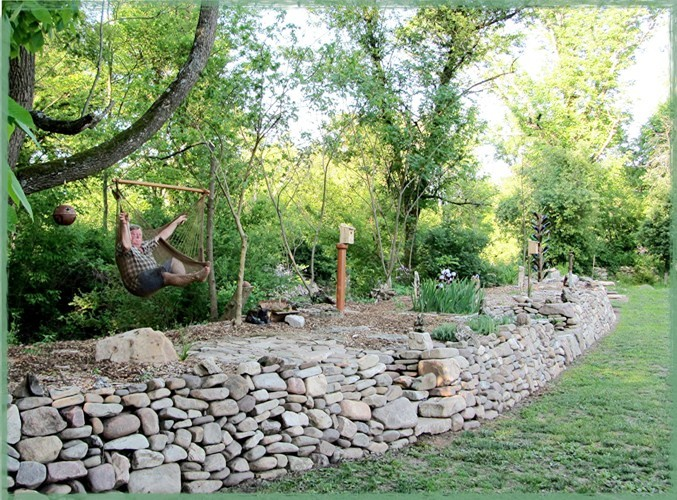 Stone Wall, when finished,...a paradise